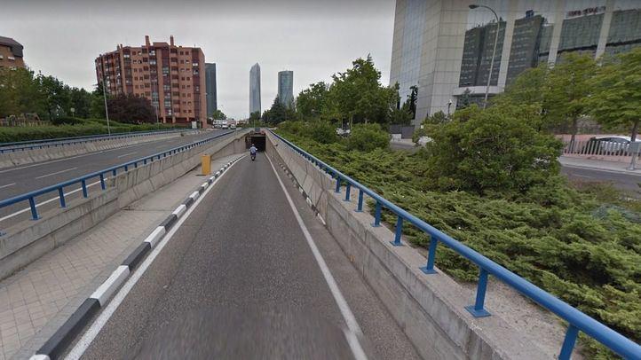 Sigue la reparación del túnel de Pío XII