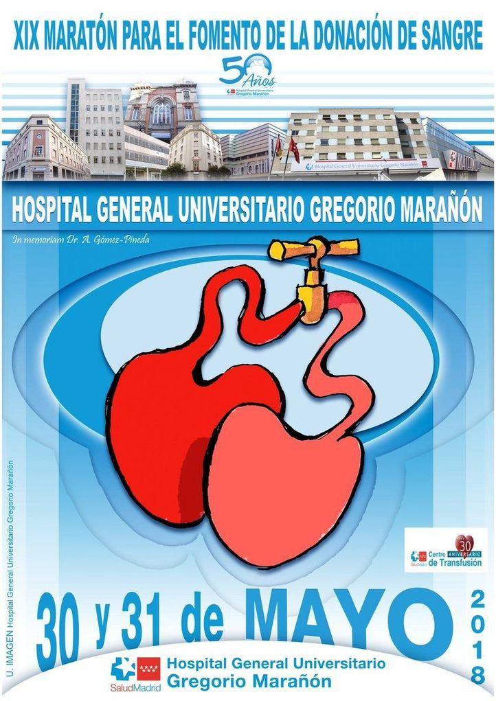 #GregorioMaraTon: dos días para reforzar las reservas de sangre en el Marañón
