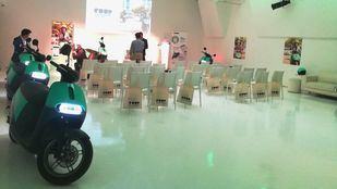 Presentación del nuevo servicio de alquiler de scooters, Coup.