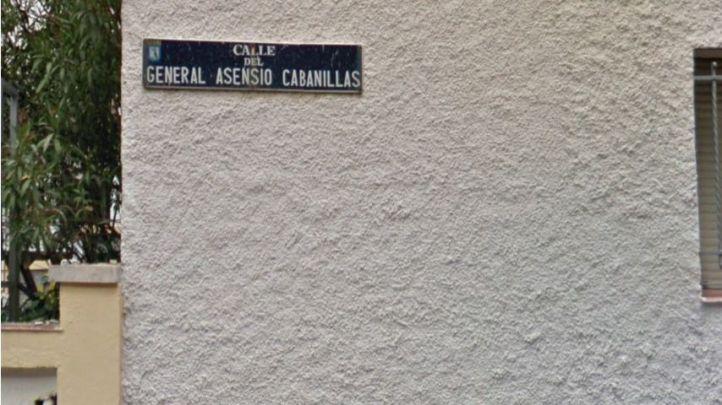 El ministro franquista Cabanillas se queda en Chamberí