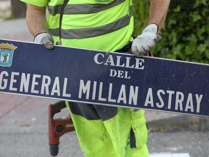 El general Millán Astray también vuelve al callejero