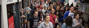 Los paros de Metro se reanudan hasta la noche