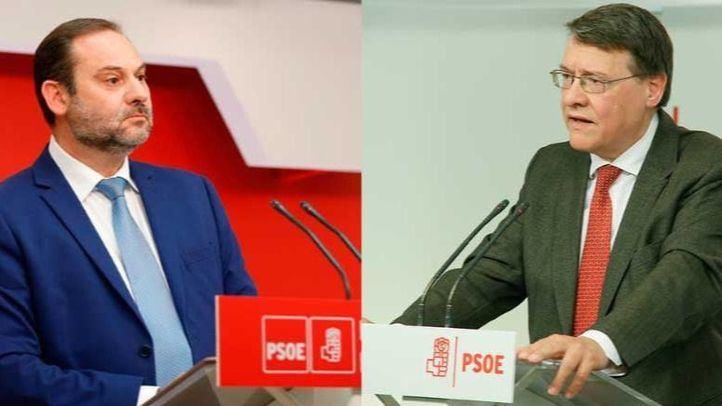 José Luis Ábalos y Jordi Sevilla