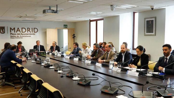Imagen de archivo de la comisión de investigación de BiciMAD.