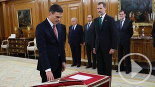 Así ha prometido Sánchez el cargo de presidente
