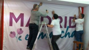 Nueva sede de Podemos en Coslada