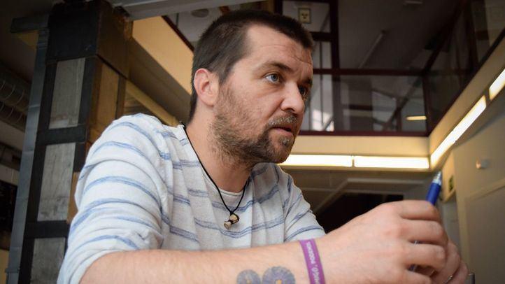 Sergio García Torres, durante la entrevista concedida a Madridiario