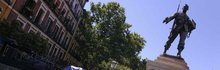 Homenaje al héroe del Cascorro o la 'precampaña' de Alfonso XIII