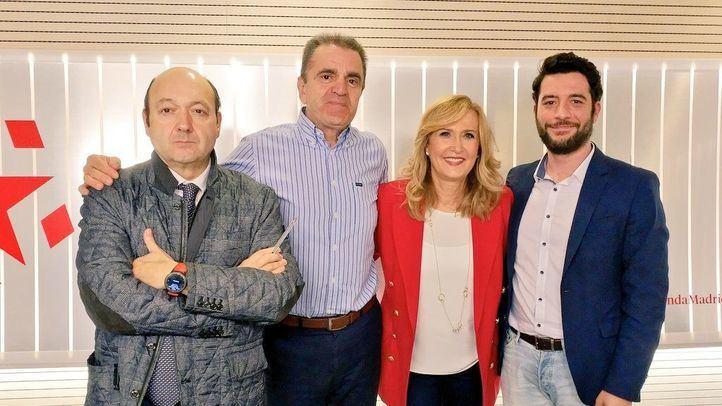 José Manuel Franco y César Zafra, en Com.Permiso.