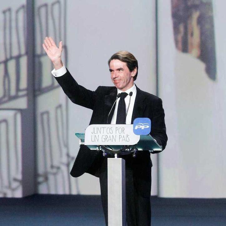 Vuelve Aznar, que nunca se fue
