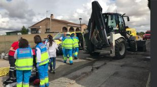 Los servicios de emergencias confirmaron el fallecimiento del operario.