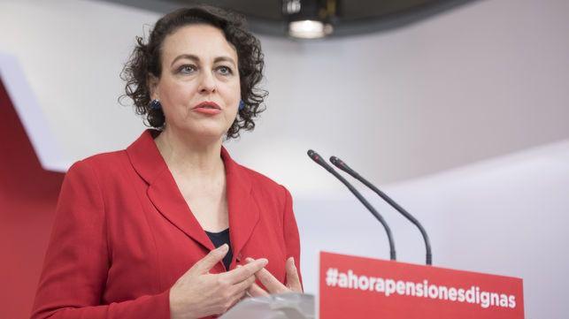 Magdalena Valerio, ministra de Trabajo de Sánchez.