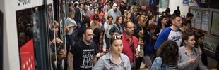 Tercera jornada de paros en Metro