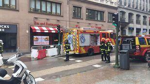 Nueva fuga de gas en la calle Alcalá