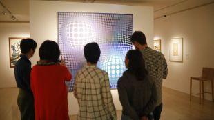 Vasarely: el arte óptico que causó furor entre los yeyés