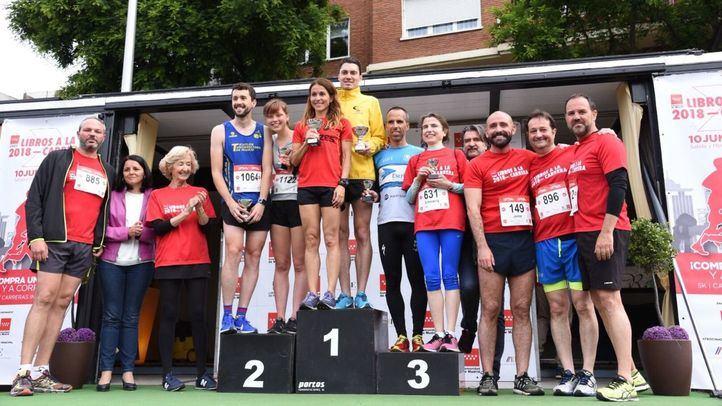 Una carrera por dos pasiones: el 'running' y los libros
