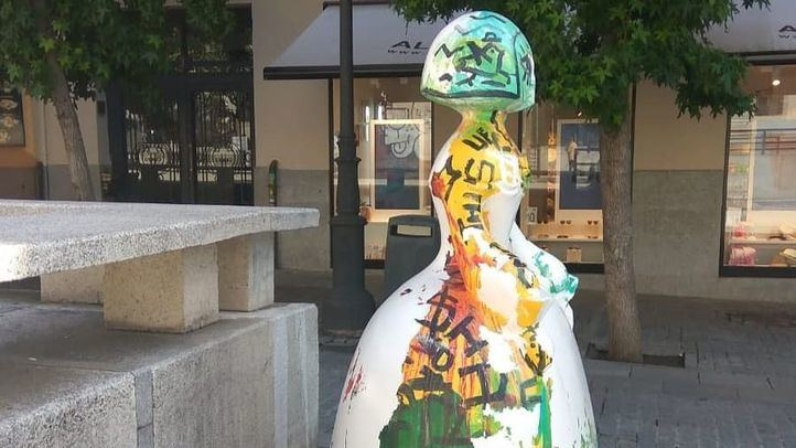 Domingo Zapata restaurará 'su' Menina a ojos del público.