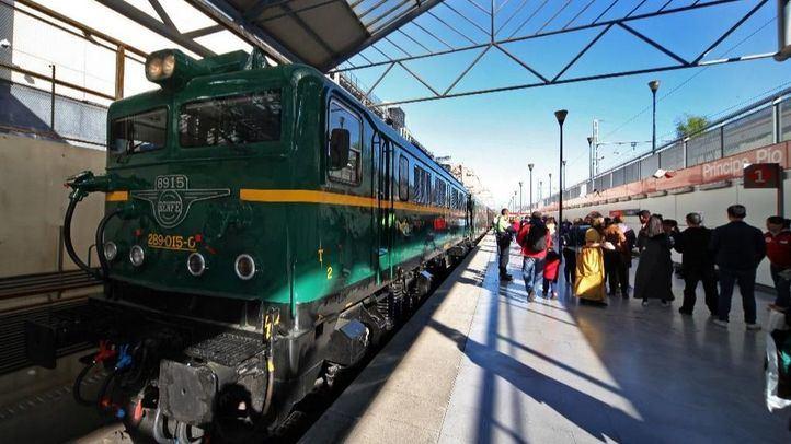 Participe y viaje gratis en el Tren de la Fresa