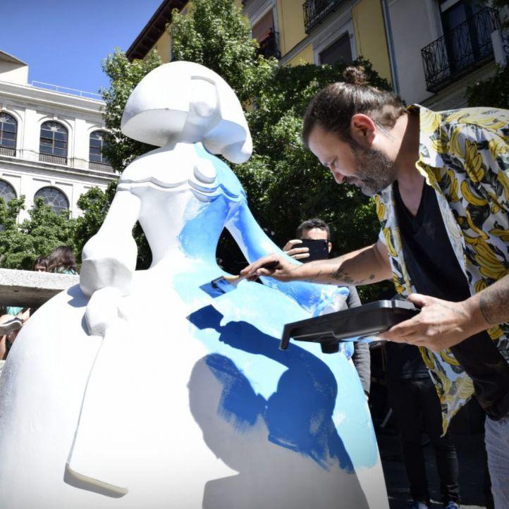 Flamenco y arte urbano para revivir a la Menina del Reina
