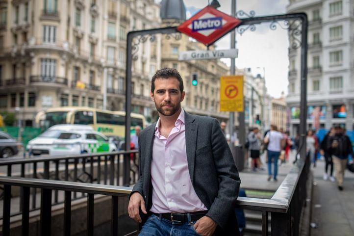 Alberto Oliver, diputado de Podemos y portavoz de la formación morada en la comisión del amianto.