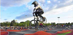 Torrejón de Ardoz inaugura el Bike Park, el mayor circuito urbano de España de su género