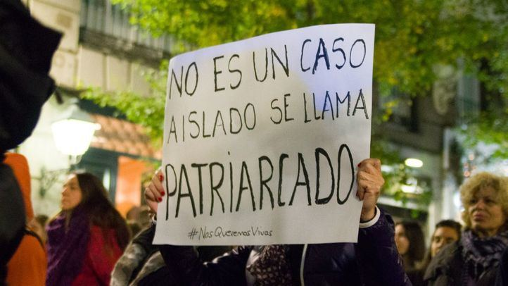 Manifestación contra la violencia machista a las mujeres, '¡Tu voz cuenta!'