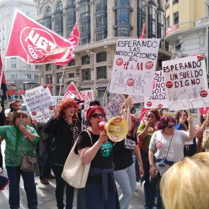 Un 86 por ciento de trabajadores de H&M secunda la huelga