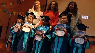 Graduación infantil en Casvi International American School de Tres Cantos
