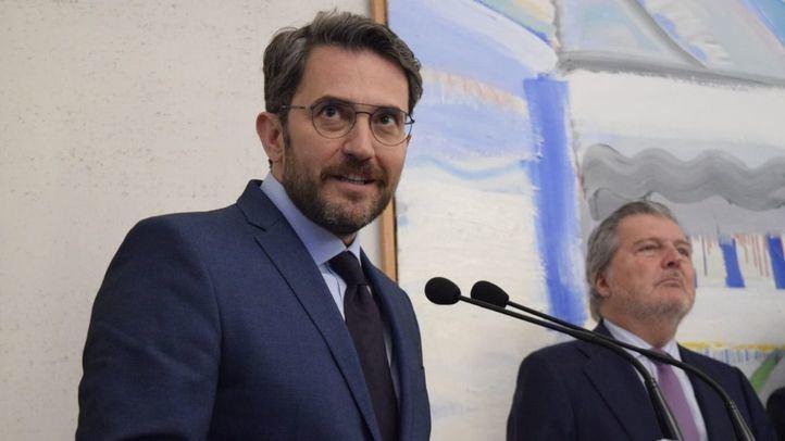 Màxim Huerta, nuevo ministro de Cultura y Deportes.