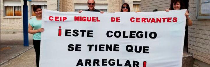 Leganés marcha por la reforma integral del Miguel de Cervantes