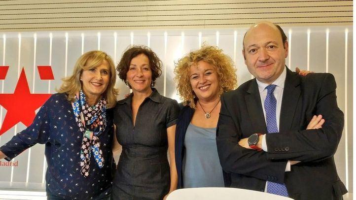 Cati Rodríguez y Cristina Moreno en Com.Permiso.