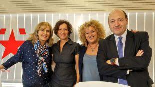 Las alcaldesas de 'Sanfer' y Aranjuez, con ganas de haber visto a Huerta en acción