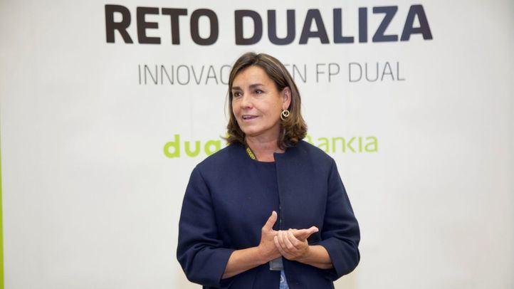La directora general adjunta de Comunicación y Relaciones Externas en Bankia, Amalia Blanco.