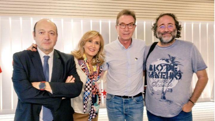 Jaime Cedrún y Enrique Villalobos, en Com.Permiso.