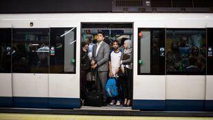 Metro cifra en un 22 por ciento el seguimiento de los paros de esta mañana