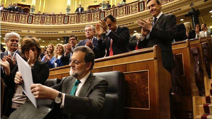 Rajoy deja su escaño en el Congreso