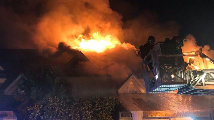 Incendio en Collado Villalba