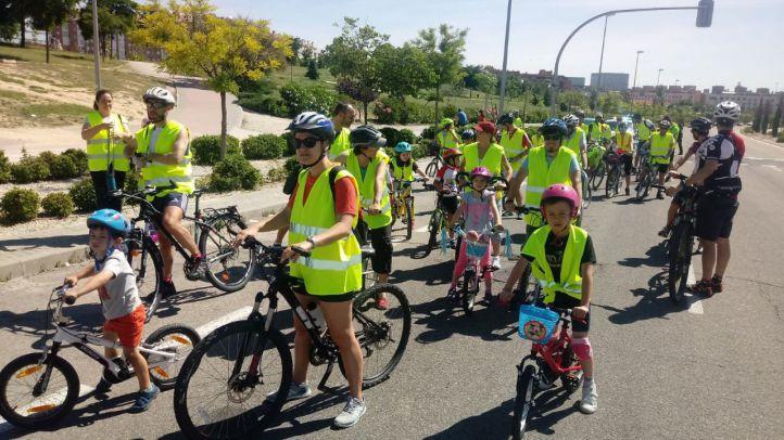 Primera marcha ciclista por el Norte de Madrid