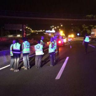 Un joven fallece atropellado cuando cruzaba la A-2