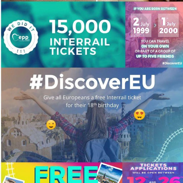Interrail gratis este verano para los jóvenes de 18 años
