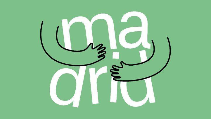 Un logo fraternal: Madrid se propone ser la ciudad del abrazo