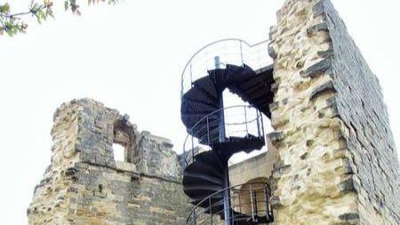 Castillo de Briones, en La Rioja.