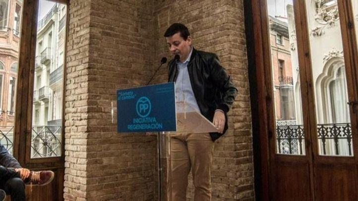 José Luis Bayo, expresidente de Nuevas Generaciones de la Comunidad Valenciana y aspirante a sucesor de Mariano Rajoy.