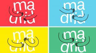 Logos del 'abrazo' del Ayuntamiento de Madrid.