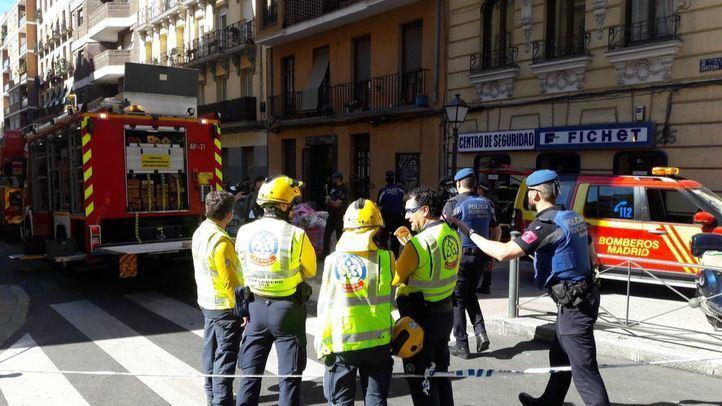 Nuevo derrumbe en Chamberí: ocho vecinos siguen confinados