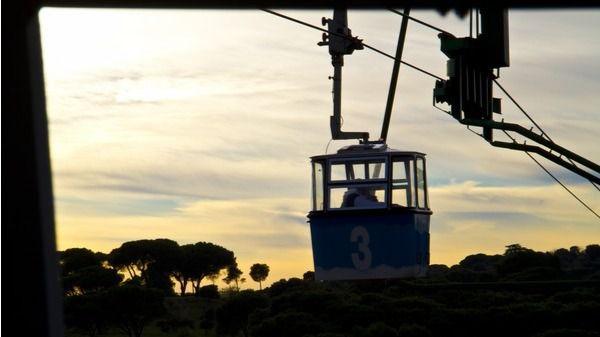 Nace el Teleférico: las vistas más espectaculares (e indiscretas) de Madrid