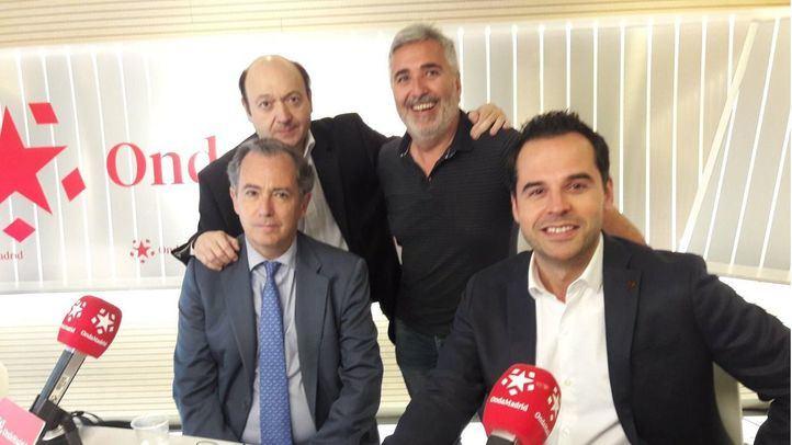 Enrique Ossorio e Ignacio Aguado en Com.Permiso.