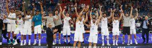 El Real Madrid se proclamó campeón de la Liga Endesa.