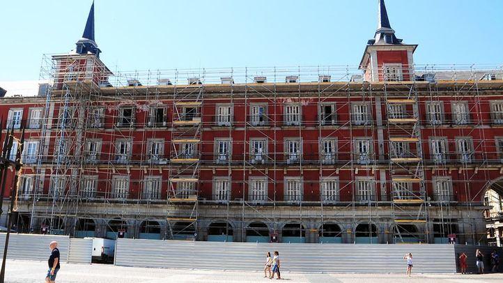 Obras en la Casa de la Carnicería, en una imagen de archivo.