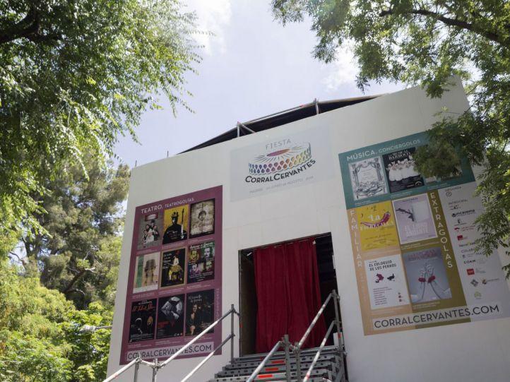 Se abre este martes el corral de comedias de Moyano